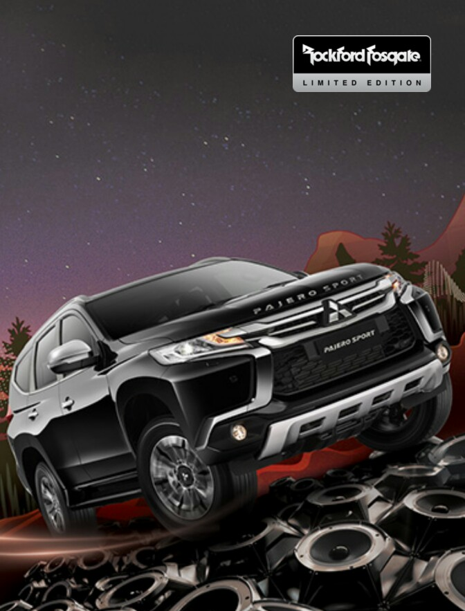 Pajero Rockford Limited Edition